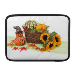 Pumpkins and Sunflowers MacBook Air Sleeve