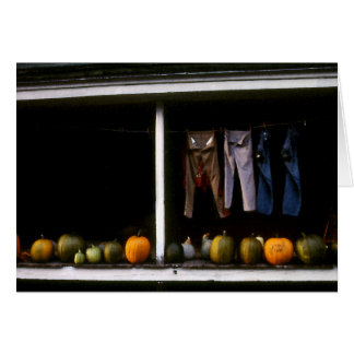 Pumpkins and Wash Line Card