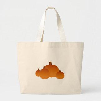 Pumpkins Assortment Large Tote Bag