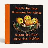 Pumpkins at Cards Halloween Binder