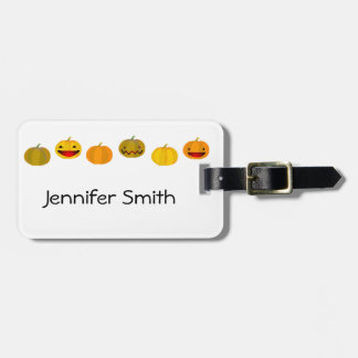 Pumpkins Bag Tag