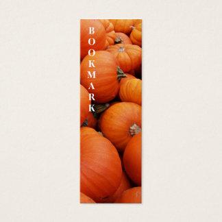 Pumpkins Bookmark Mini Business Card