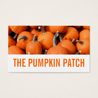 Pumpkins Business Card