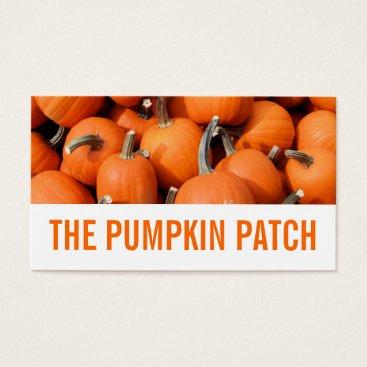Halloween Themed Pumpkins Business Card