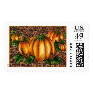 PUMPKINS by SHARON SHARPE Postage