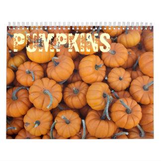 Pumpkins Calendar