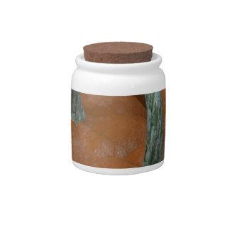 pumpkins candy jar