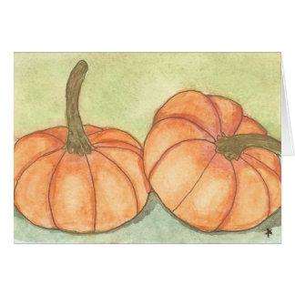 pumpkins card