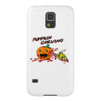 Pumpkins Carving Case For Galaxy S5