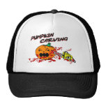 Pumpkins Carving Mesh Hat