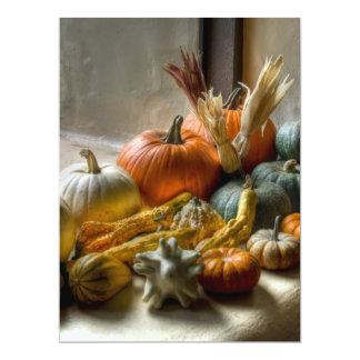 Pumpkins Decor Card