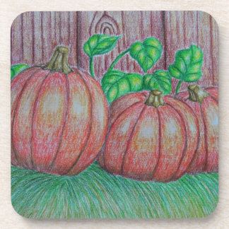 Pumpkins Drink Coaster