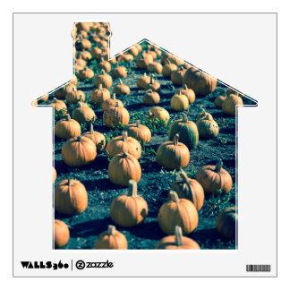 Pumpkins Farm Wall Sticker