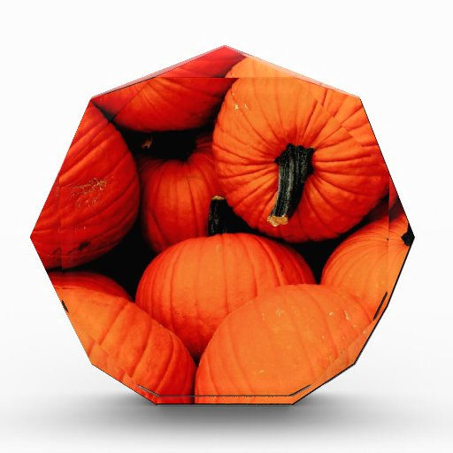 Pumpkins for Fall Acrylic Award