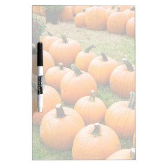 Pumpkins for Sale at a Farmer's Market Dry-Erase Board