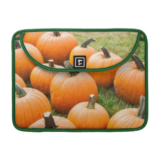 Pumpkins for Sale at a Farmer's Market Sleeve For MacBooks