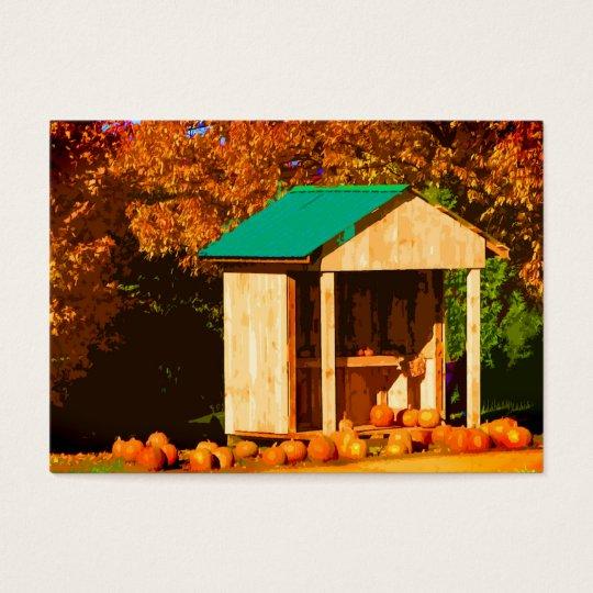 Pumpkins for Sale ATC Business Card