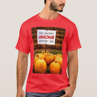 "Pumpkins for ""Union Support"" T-Shirt"