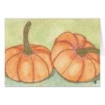 pumpkins greeting cards
