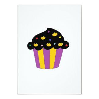 Pumpkins Halloween Cupcake Card