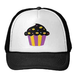 Pumpkins Halloween Cupcake Trucker Hat