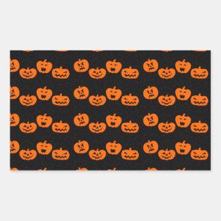 Pumpkins Halloween Party Favor Sticker