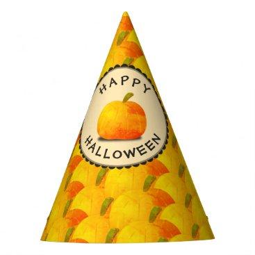 Halloween Themed Pumpkins Happy Halloween Party Hat