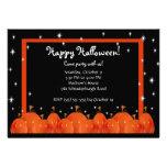 Pumpkins Happy Halloween Party Invitation