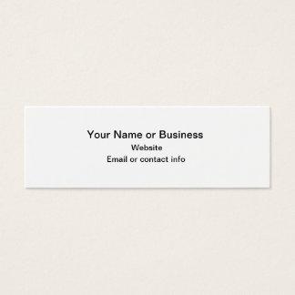 Pumpkins Mini Bookmark Business Card