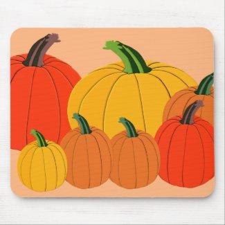 Pumpkins mousepad mousepad