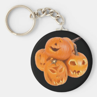 Pumpkins of Halloween - Keychain