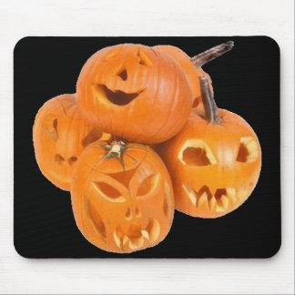Pumpkins of Halloween - Mouse Pads