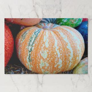 Pumpkins Paper Placemat