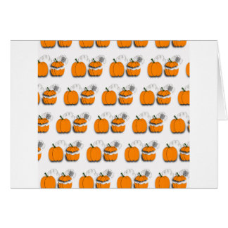 Pumpkins pattern card
