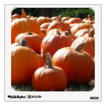 Pumpkins Photo for Fall, Halloween or Thanksgiving Wall Sticker