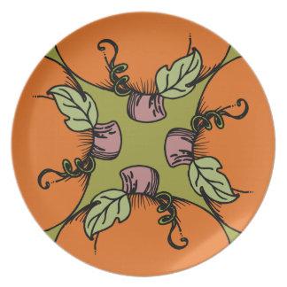 Pumpkins Plate