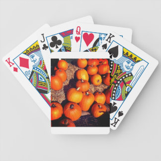 Pumpkins Bicycle Playing Cards
