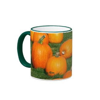 Pumpkins!, Pumpkins! © Roxy Riou Ringer Coffee Mug