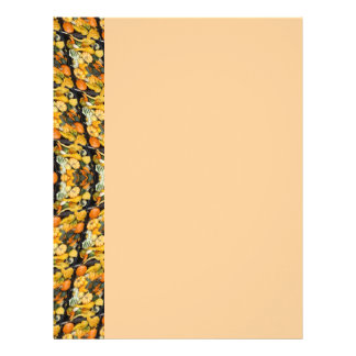 Pumpkins, Squash, and Gourds - Abstract Personalized Letterhead