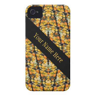 Pumpkins, Squash, and Gourds  Abstract Personalize Case-Mate iPhone 4 Case