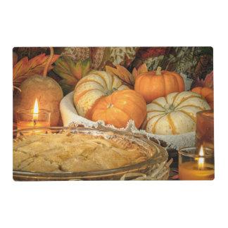 Pumpkins still life placemat