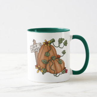 Pumpkins Thanksgiving Give Thanks Mug
