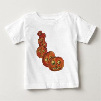 Pumpkins (Vintage Halloween Card) Baby T-Shirt