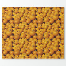 Pumpkins Wrapping Paper