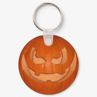 Pumpky The Jack-o'-lantern Keychain keychain