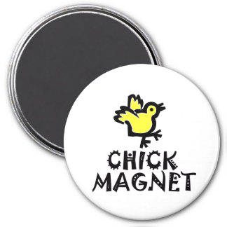 Pun - Chick Magnet with Baby Chick
