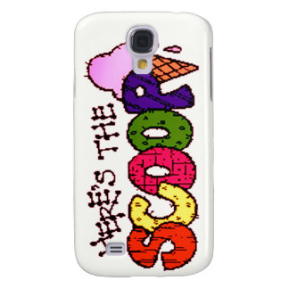 Pun - Here's the Scoop iPhone 3G/3GS Galaxy S4 Cases