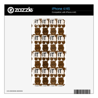 Pun: It Bears Repeating Decal For The iPhone 4S