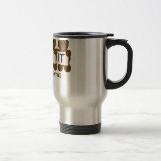 Pun: It Bears Repeating Travel Mug