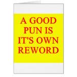 pun on puns cards